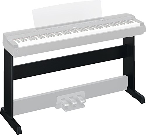 Yamaha L255B Electronic Keyboard Stand, Black