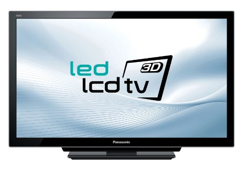 Panasonic Viera TX-L32DT30E 80 cm (32 Zoll) 3D LED-Backlight-Fernseher (Full-HD, 400Hz sfd, DVB-T/-C/-S, CI+) schwarz-metallic