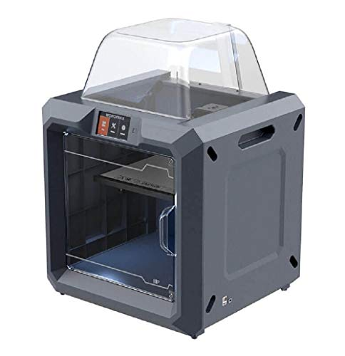 Monoprice 300 3D Printer - Black with Large Heated Build Plate (280 x 250 x 300 mm) Fully Enclosed, Touch Screen, Assisted Leveling, Easy Wi-Fi, 8GB Internal Memory