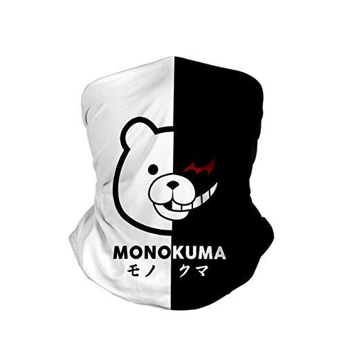 lunanana Danganronpa Bandana, Anime Couverture Complète Bandanas Halsmanschette Kopfbedeckung Gesicht Schal(H04)