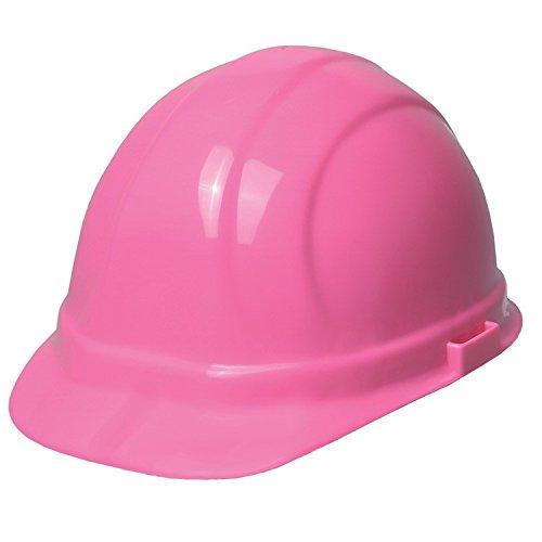 ERB 19129 Omega II Cap Style Hard Hat with Slide Lock, Flourescent Pink