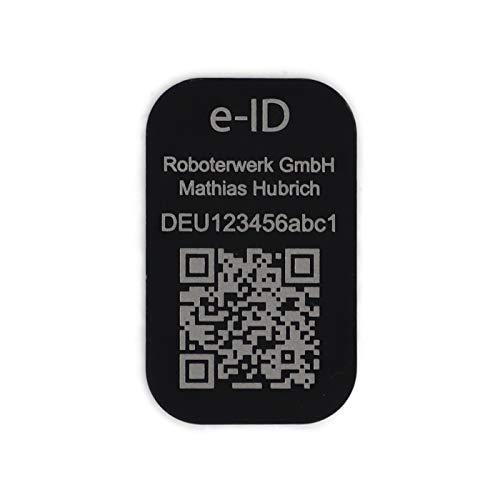 Roboterwerk Drohnen-Kennzeichen - e-ID +...