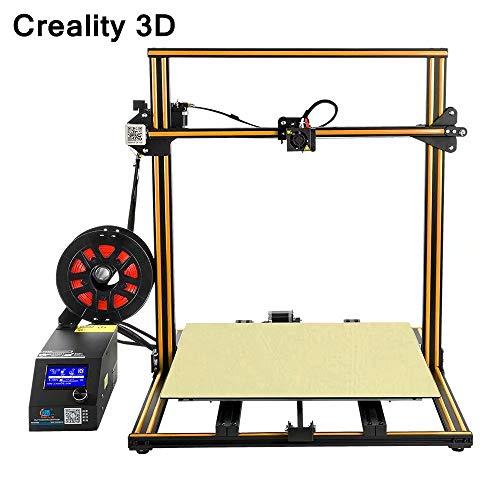 Laecabv CrealityCR-10S5 Imprimante 3D 3D grand volume de construction DIY Imprimante 3D Combi -215500 -Combi -2mm - Positioning Précision 0,012 mm - Motion Speed 200 mm/s