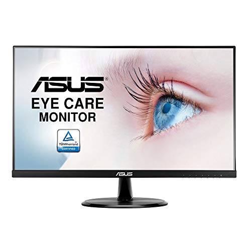 "ASUS VP249HE 23.8"" Monitor Full HD IPS HDMI VGA with Eye Care,BLACK"