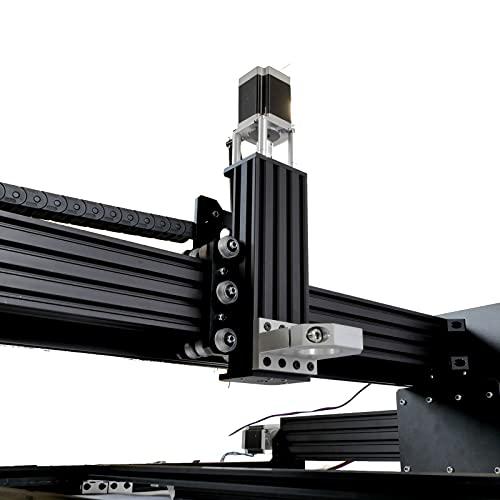 Máquina CNC WorkBee con accionamiento de husillo (1000x1000) motores paso a paso NEMA 23 (1,9 Nm y 3 A) y cuello Euro (43mm) como kit