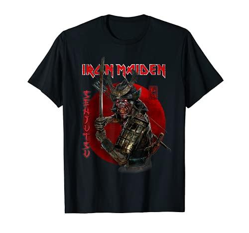 Iron Maiden - Senjutsu Eddie Red Circle Camiseta