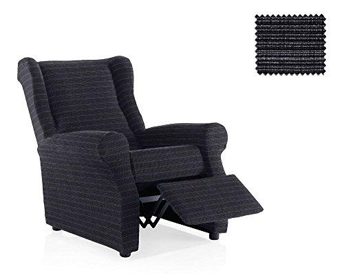JM Textil Husse Relax-Sessel Moraig Größe 1 Sitzer (Standard), Farbe Grau (Mehrere Farben verfügbar)