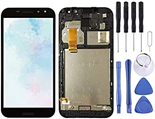 Mobile phone accessories LCD Screen and Digitizer Full Assembly with Frame for Vodafone Smart N8 VFD610(Black) smartphone ...