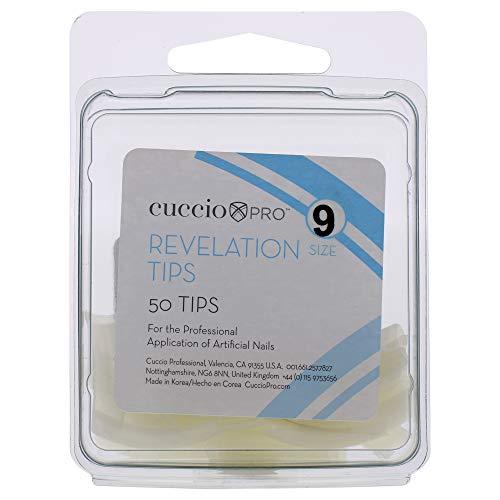 Cuccio Pro Revelation Tips 9 by for Women 50 Ongles en Acrylique 50 Unités