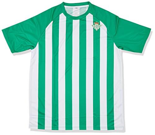 Kappa Home Betis Camiseta, Hombre, Blanco/Verde, XL