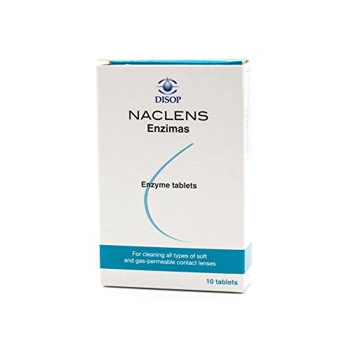 NACLENS Enzyme z.Reing.f.alle Kontaktlinsen Tabl., 10 St