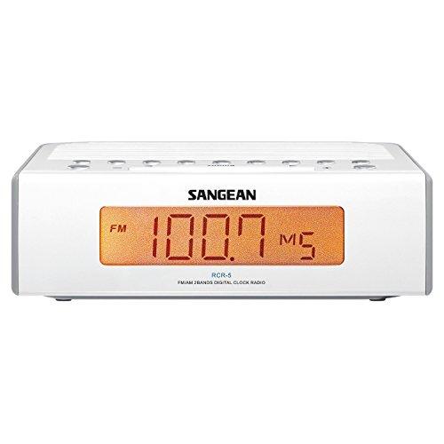 Sangean RCR-5 Desktop Clock Radio