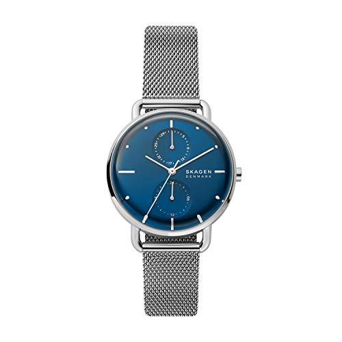Skagen Damen Analog Quarz Uhr mit Edelstahl Armband SKW2947
