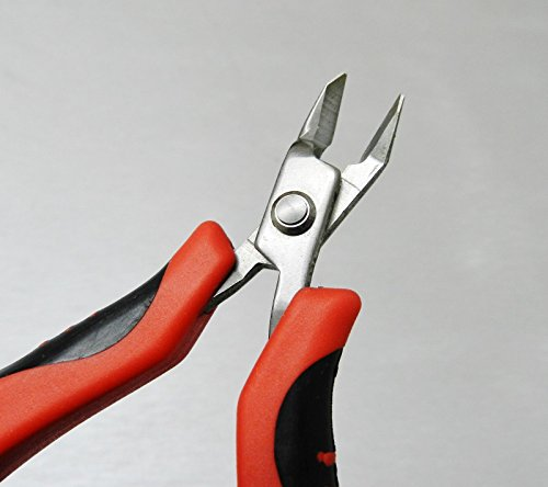 Mini Ergonomic Cutter Snip Nose Palm Held Pliers Flush Cut with Spring by ACE