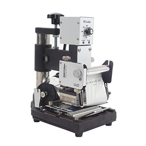 SISHUINIANHUA Prägen Heißprägemaschine Für PVC-Karten-Folien-Drucker Digital-Heißfolienprägemaschine
