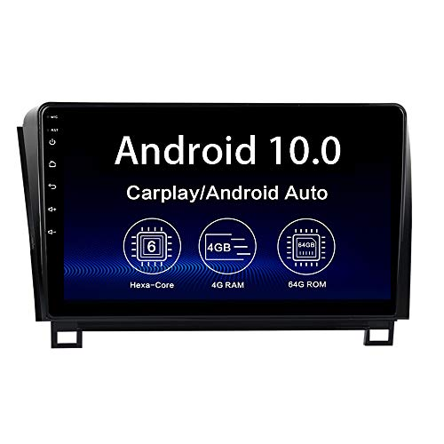 "Dasaita 10.2"" Android 10.0 Car Radio for Toyota Tundra 2007-2013 Sequoia 2008-2018 Bluetooth 5.0 Stereo GPS Navigation Head Unit Multimedia Video Player 4G 64G DSP Android Auto Wireless Carplay"
