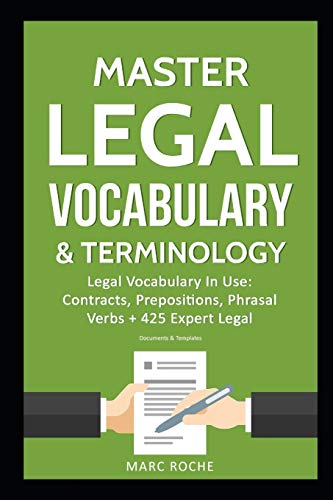 Master Legal Vocabulary & Termin...