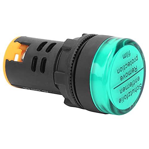 50 x 28mm 10 Pcs Luz de señal 100cd/m² Indicador de potencia Telecomunicaciones para energía eléctrica (verde)