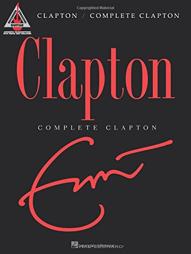 Complete Clapton note for note guitar tab.