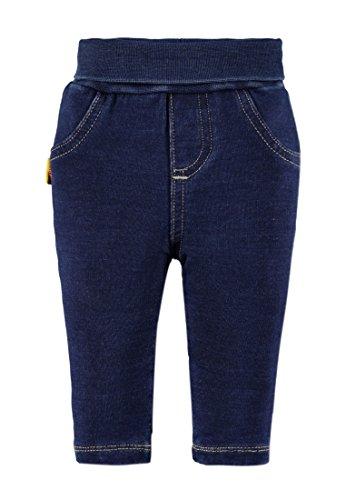 Steiff Collection Jeggings, Set de vêtements Fille, Bleu (Dark Blue Denim 0012), 62 cm
