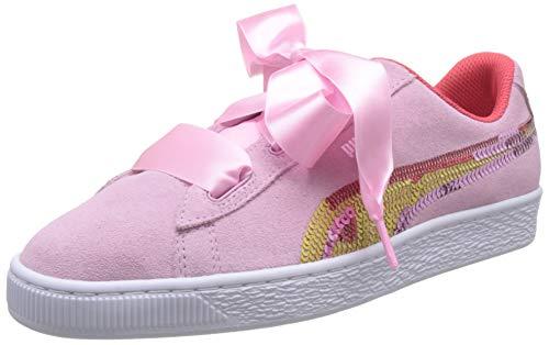 Puma Suede Heart Trailblazer Sqn Jr Sneakers voor meisjes