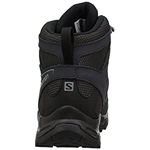 Salomon Men's Pathfinder Mid ClimaSheild Waterproof Hiking Boots, Magnet/Phantom/Monument, 10.5 M US