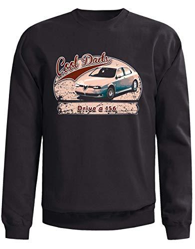 Cool Dads Drive an Alfa Romeo 156 Car - Sudadera para hombre...