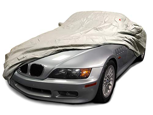 CarsCover Custom Fit 1996 1997 1998 1999 2000 2001 2002 BMW Z3 Roadster Car Cover Heavy Duty Weatherproof Ultrashield Covers