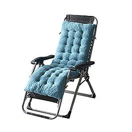 DFBGL Coussins de Chaise de Jardin Extra-Larges, Shaggy Coussin de Chaise Longue Confortable à Dossier Haut Coussin…
