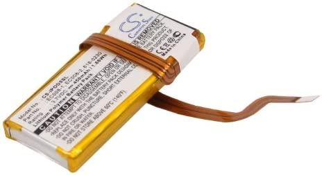 Battery Replacement Superlatite for Apple iPod Ranking integrated 1st place MA664 EC008 30GB 616-0227 U2