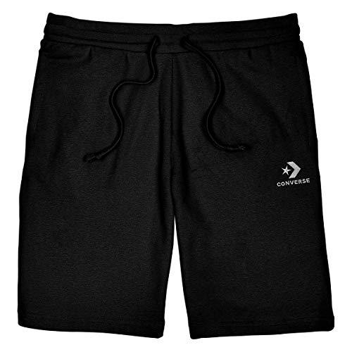 Converse Star Chevron EMB Short Shorts Herren Schwarz - S - Shorts/Bermudas