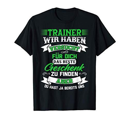 Co-Trainer Trainer Fußballtrainer Geschenk T-Shirt