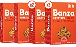 Banza Chickpea Pasta Variety Pack