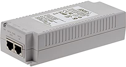 Axis Communications 5900-334 T8134 Midspan, PoE Injector, 60W, White