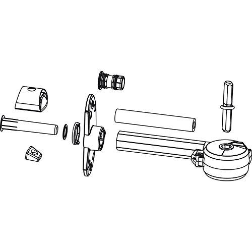MACO RUSTICO Ladeninnenöffner-Getriebe BLR L210 mit Achtkant, schwarz (105300)