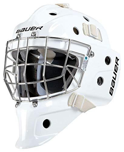 Bauer Profile 940X Torwart Maske Junior, Farbe:Weiss