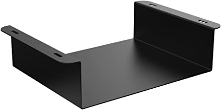 Oeveo Under Mount 139-9.75W x 2.8H x 8D   Under Desk Computer Mount for HP Thin Client and Dell USFF Computers   UCM-139