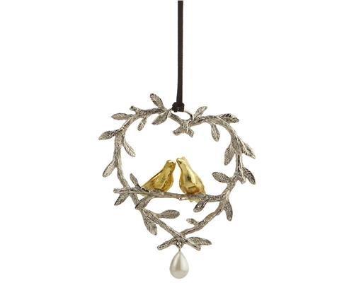 Michael Aram Lovebirds Ornament by Michael Aram