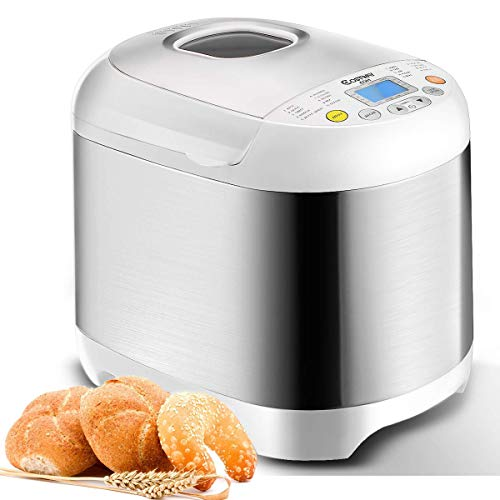 COSTWAY Bread Maker Automatic 19...