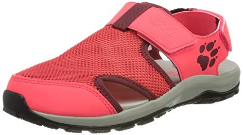 Jack Wolfskin Outdoor Water Action Sandal K Sportsandale, pink/Grey, 38 EU