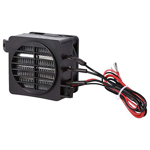 Fdit PTC Auto Lufterhitzer Heizlüfter 100 Watt 12 V Energiesparende Auto Heizlüfter Konstante Temperatur Heizelement Heizungen