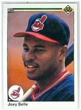 Albert Belle baseball card (Cleveland Indians All Star Joey) 1990 Upper Deck #446 Rookie Season