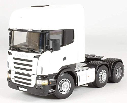 Cararama Diecast Model - Scania Cab White - 1:50 Scale - CR026 - New