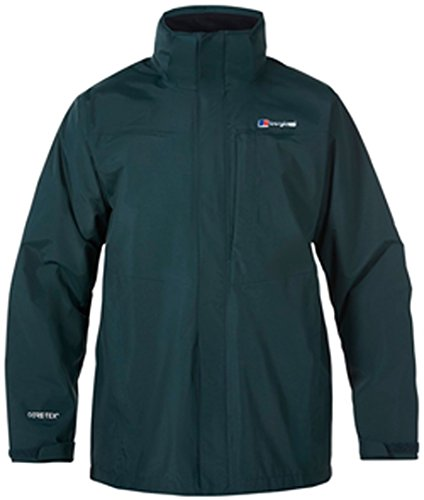 Berghaus Long HIllwalker Herrenjacke wasserdicht Medium Scarab