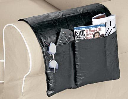 lowest Genuine lowest Leather Chair online sale and Sofa Arm Caddy Organizer. online