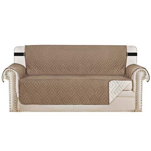 Protectores de sofá Fundas de sofá Impermeables de 3 plazas de Mascotas/Perros/niños, Fundas de sofá Fundas Protectoras de Muebles Fundas Acolchadas, antide
