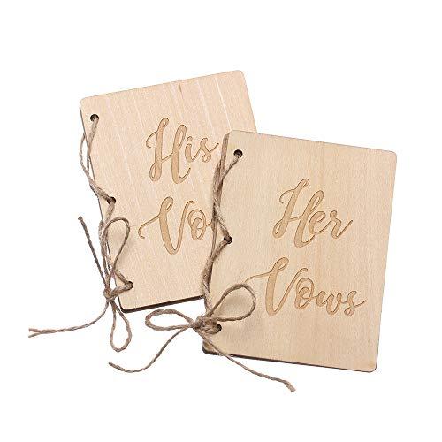 jumpeasy 2 STKS Handgemaakte Kraft Paper Engagement Party Supply Bruiloft Decoratie Huwelijk Vows Boekjes Houten Fotografie Props Vows