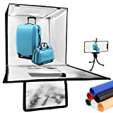 Alucax Photo Studio Light Box, 24 x 24 inches Portable Lightbox for Product...