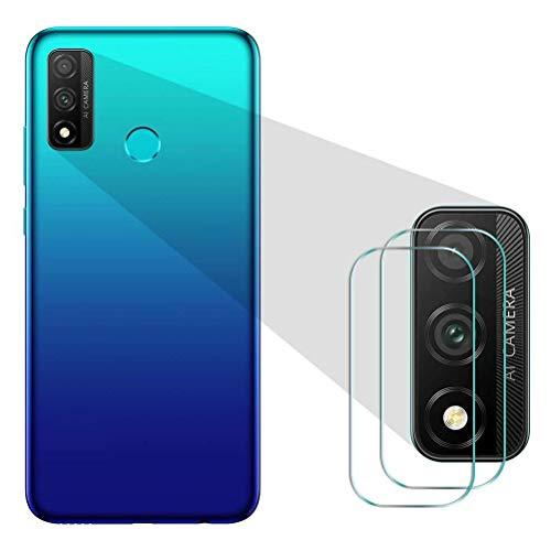 Mkej [Pack de 3 Protector de Cámara Compatible con Huawei P Smart 2020 Cristal Templado para Lente Cámara 9H Resistente a Arañazos, Cámara Trasera Lente Película de Pantalla