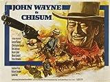 CHISUM - John Wayne – Film Poster Plakat Drucken Bild –